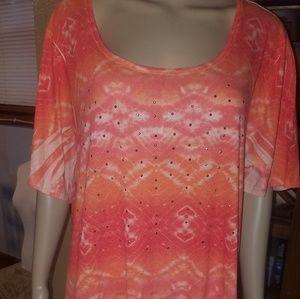 Catherine's brand size 2X orange shirt.